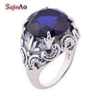 Szjnao Kate principessa anello in argento 925 gioielli di marca sapphire anelli per le donne gioielli dito indice
