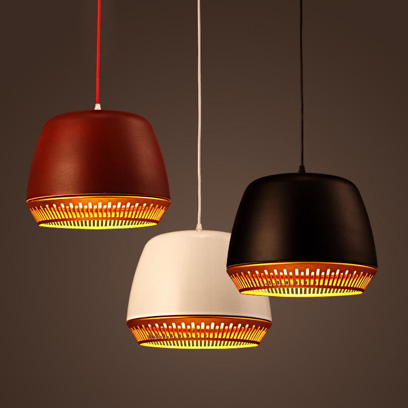 Modern Metal Pendant Light Contemporary Indoor Drop Light Black White Hanging Pendant Lamp E27E26 Socket Vintage Pendant LightModern Metal Pendant Light Contemporary Indoor Drop Light Black White Hanging Pendant Lamp E27E26 Socket Vintage Pendant Light