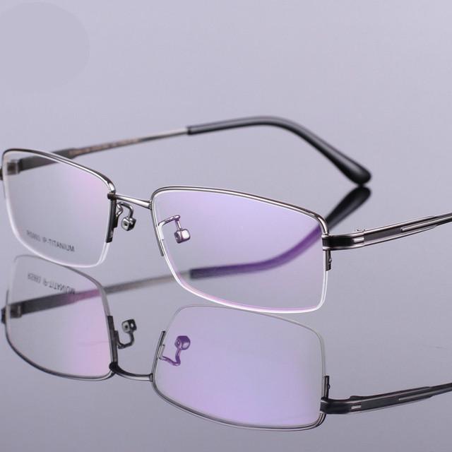 2016 designer de Moda 100% óculos de titânio puro quadro TG993 anti vidros da radiação computador óculos óculos de Armação