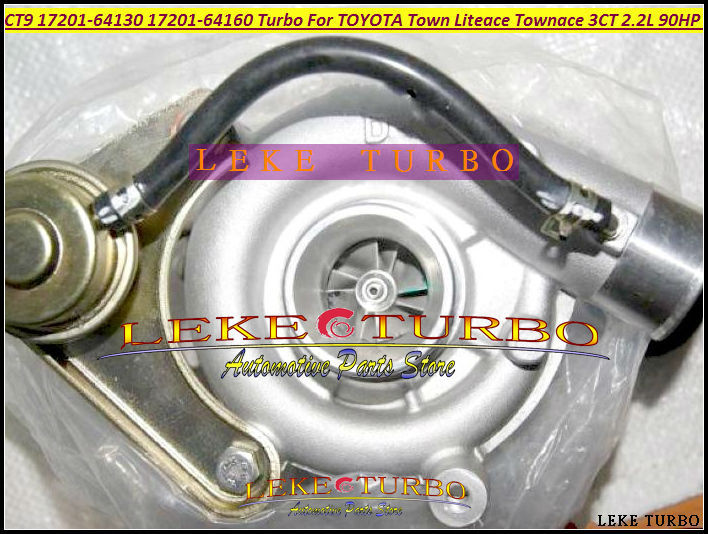 CT9 17201-64130 17201 64130 Turbo Turbocharger For TOYOTA Lite Town Liteace Townace Noah CR40 CR41 CR50 3C-T 3CT 3CTE 2.2L 90HP free ship ct9 17201 64160 17201 64160 1720164160 turbo turbocharger for toyota lite town liteace townace 3c t 3ct 3cte 2 2l 90hp