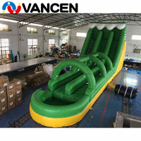 15*5*6m outdoor inflatable bouncer slide commercial good quality inflatable water slide clearance CE giant inflatable slide