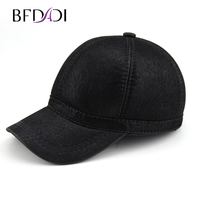 BFDADI Winter Baseball Caps New Style Warm Cap Men Earflap Adjustable Hats Fashion Mens Adults Thickening Protective Ear Hat