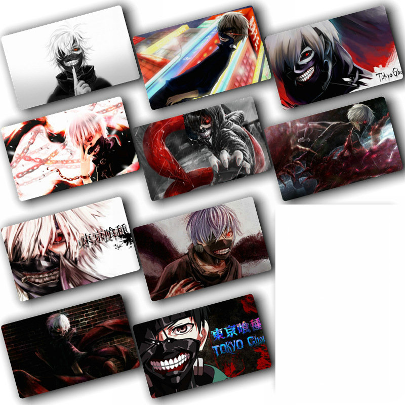 Tokyo Ghoul Anime Card Sticker Pack DIY Decoration Bus ID Waterproof Card  Kids Sticker Toys For Children 100 Pcs