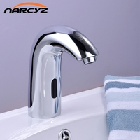 Luxury Brass Automatic Auto Touch Free Sensor Faucet Basin Faucet Wholesale And Retail XR8808