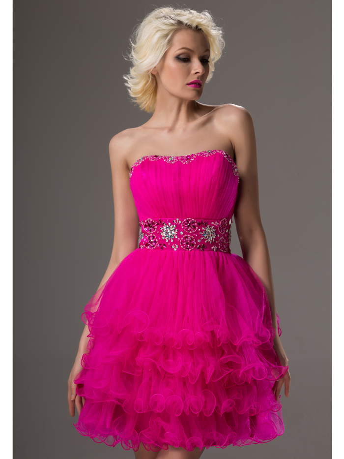 Popular Fuchsia Strapless Dress-Buy Cheap Fuchsia Strapless Dress ...