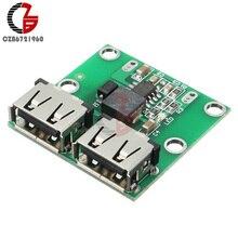 С двумя портами USB для ступенчатого понижения Мощность зарядки Модуль питания DC-DC 6 V-24 V до 5,2 V 3A понижающий преобразователь трансформатор Напряжение регулятор Зарядное устройство
