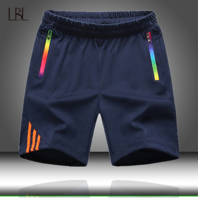Summer Short Pants Men's Casual Beach Shorts Mens Jogger Sport Elastic Waist Short Trousers Fashion New Brand Men Sweatpants