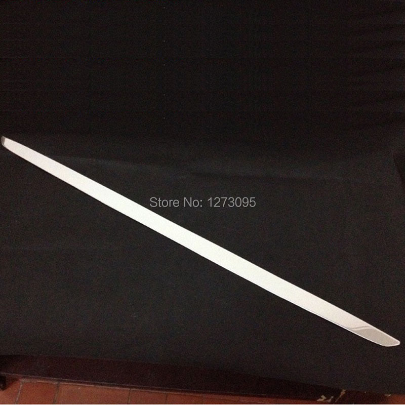 ФОТО Stainless Steel Rear Bumper Protector Sill for 2014 Peugeot 408 Car Styling Accessories