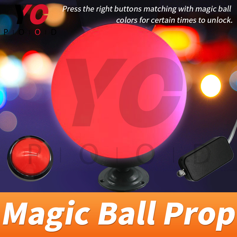 Magic Ball Prop Escape game in Takagism room press the correct buttons when the magic ball flash continuously to unlock YOPOOD