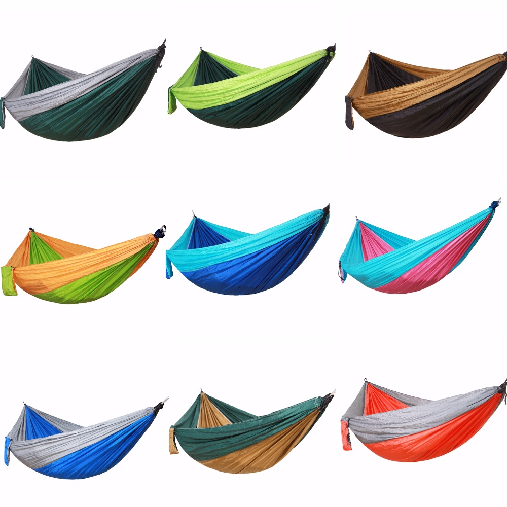 Portable Hanging Hammock Chairs For Camping Outdoor Hammocks Tent on Stand with Tree Straps Garden Swings Chair Sleeping Gear outdoor rattan hammock stand chair with cushions