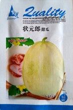 (Mix minimum order $5)1 original pack 5g 800+pcs Muskmelon seeds,sweet melon early-maturing ,fruit seeds Free Shipping