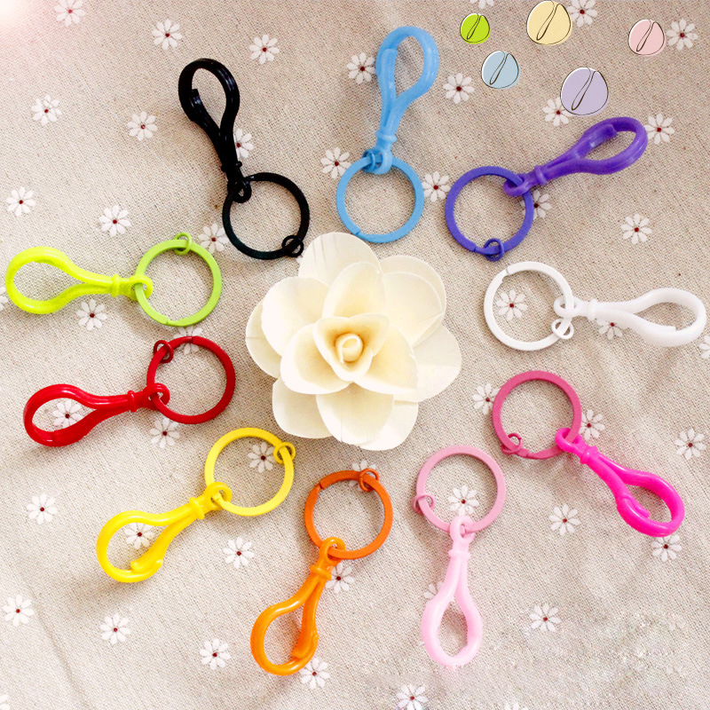 5Pcs/Set Baby Stroller Accessories Colorful Bottle Pacifiers Strap Holder Hanger Hooks Hanging Stroller Toys Anti-lost Hooks