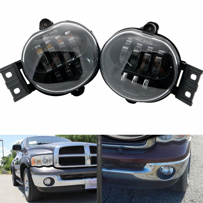 1 Pair 63w Led Fog Light For Dodge Ram 1500 2002 2008 2500 3500 2003 2009 Lamp In Car Embly From Automobiles Motorcycles On
