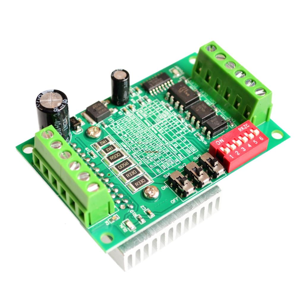 Motor Controller This Circuit Is A L6208 Stepper Motor Controller