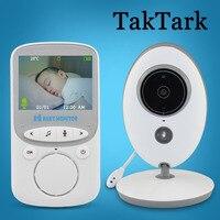 TakTark 2 4 Inch Wireless Video Baby Monitor Color Camera Intercom Night Vision Temperature Monitoring Babysitter