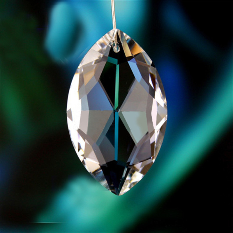 Free shipping 360pcs lot 38 22mm Crystal Chandelier Parts faceted Crystal suncatchers Chandelier pendants Crystal Curtain