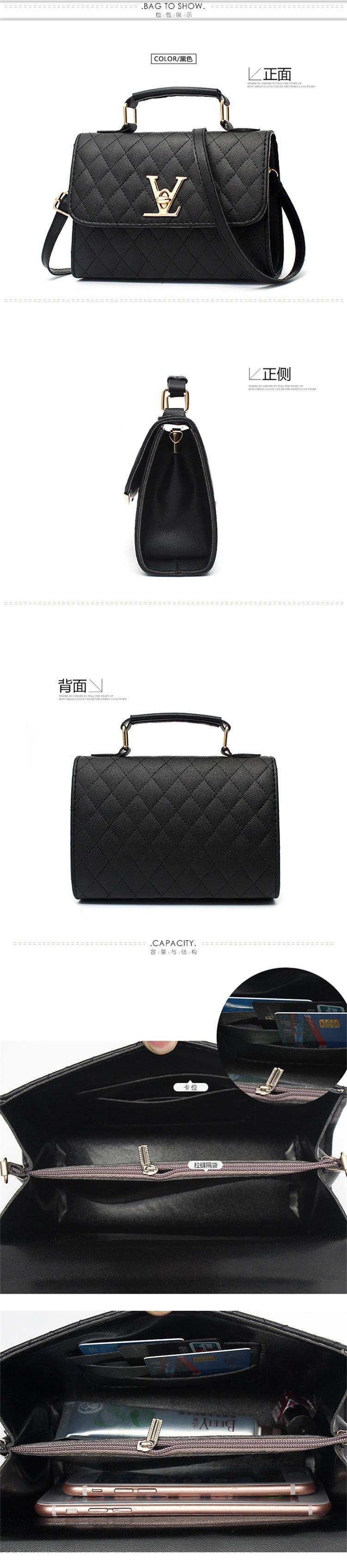 crossbody para marcas famosas sacos mensageiro louis bolsa