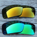 Inew polarized replacement lenses for Oakley Gascan gold and green