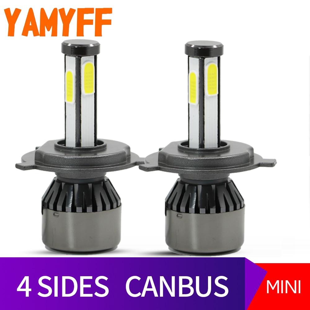 Side Bulb D1s H4 D2s Yamyff Canbus Auto Car D4s 4 Automobiles Led D3s Lamp Lights H13 6000k Fog Light 8000lm Headlight cAq4RLj35S