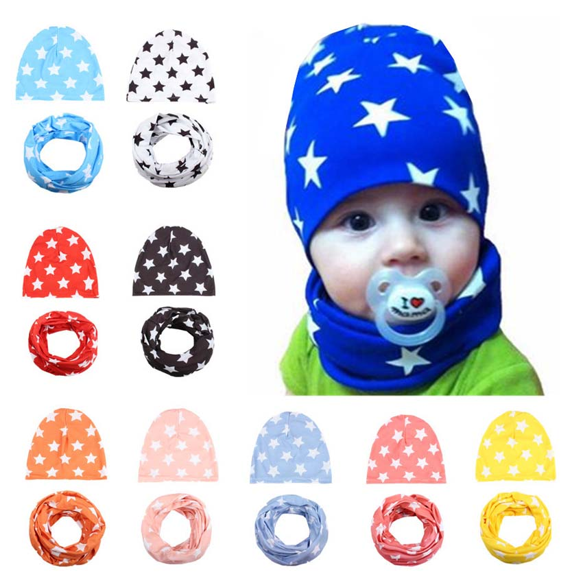 Retail And Wholesale New Style Beautiful Cartoon Pattern Baby Hat Cotton  Scarf Infant Hats Set Child Caps Boy Cap-in Hats   Caps from Mother   Kids  on ... c4d221d660b