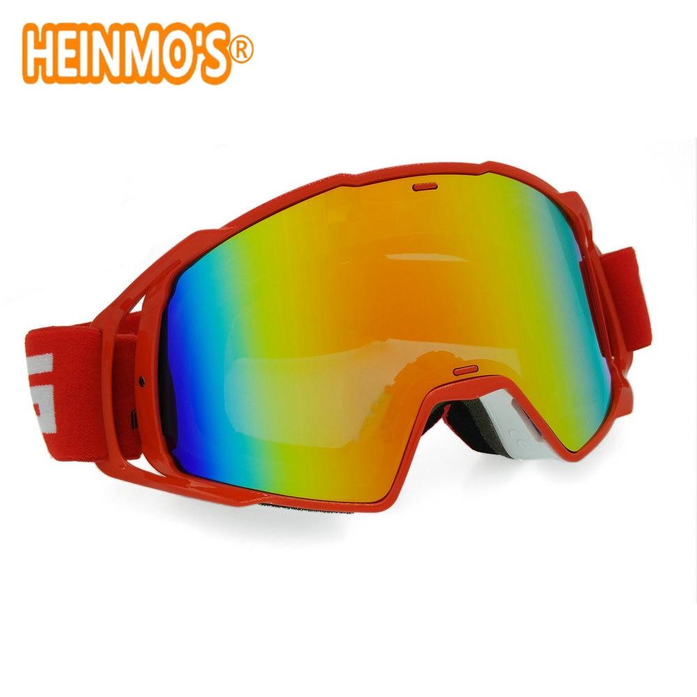 ახალი სათვალე UV Stripe მოტოციკლეტის სათვალეები Motocross Bike Cross Country მოქნილი სათვალე
