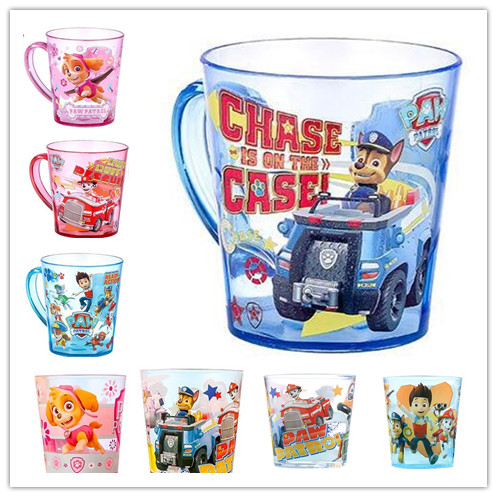 Genuine Paw Patrol 320ML Cartoon Tooth Brush / Drink Cups Wash Cups Water Cups For Children Kids Learning Drinking Cup Hot Toy