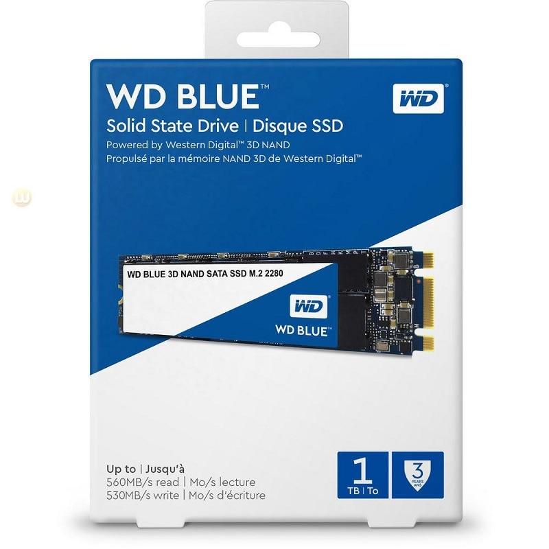 WD Original bleu M.2 SSD 250G 500G 1 to 2 to disque dur à semi-conducteurs NGFF interne M.2 2280 ssd pour PC portable portable