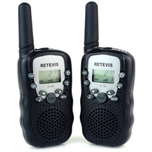 2pcs Retevis RT388 Kids Toy Walkie Talkie UHF 462.5625-467.7250MHz 0.5W 22CH For Christmas Gift LCD Display Flashlight VOX A7027