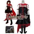 RWBY Volumen 4 Ruby Rose Cosplay Vestido Japonés de Cosplay del Anime