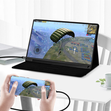 Купить с кэшбэком 15.6 inch 1920x1080p ips screen usb port type c monitor portable screen gaming monitor