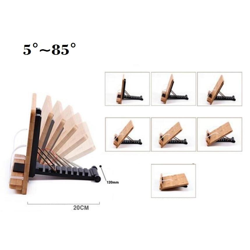 Bookends visão suporte para livros Material : Bamboo