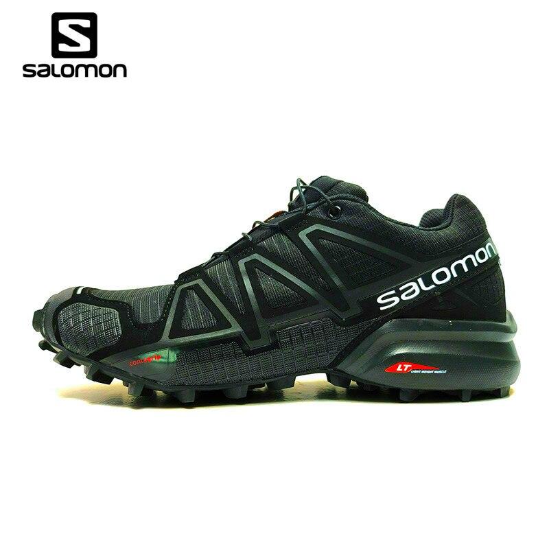 Nova Salomon Velocidade Cruz 4 CS Cross-country Shoes Cruz Velocidade 4  SAPATAS Dos Homens be2a2af1ac