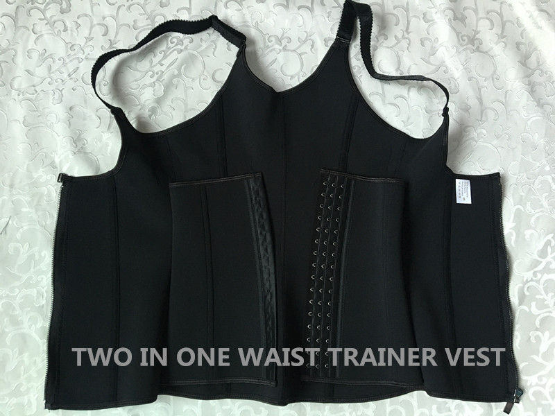 Waist trainer Neoprene Sauna Sweat Vest Women Body Slimming Trimmer Corset trainer XS S M L XL XXL XXXL XXXXL XXXXXL XXXXXXL