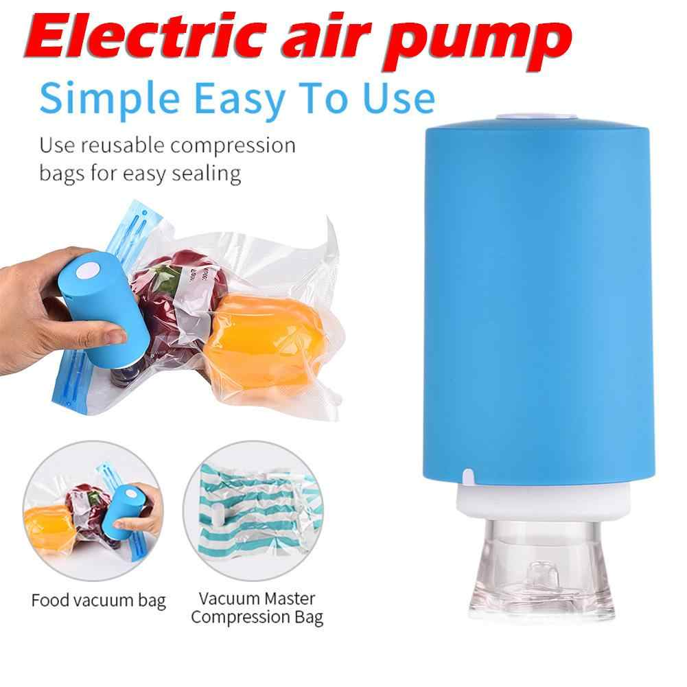 Multi-functional Dual-use Electric Air Pump Outdoor Travel Compression Bag Vacuum Storage Bag Air Extractor For Home Storage