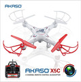 AKASO 100% Original X5C RC Helicopter Drone With camera HD Quadcopter 2.4GHz 4CH 6Axis RTF Remote Control Professional Dron Toys