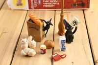 Анимация гараж ребенком Хаяо Миядзаки анимация модель Игрушечные лошадки: Artbox фигурку ПВХ Куклы Кики Услуги модель kt038