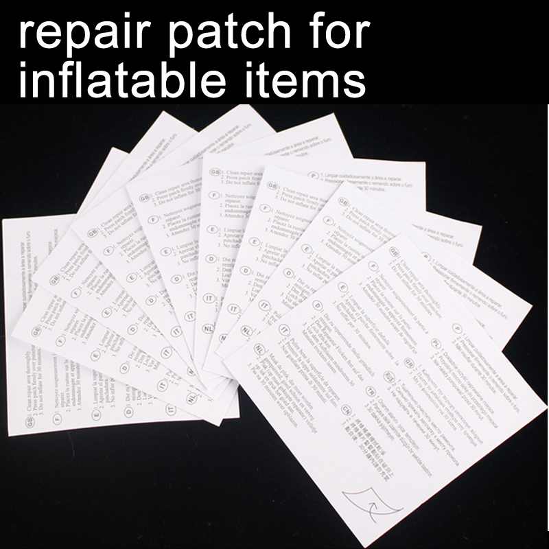 Repair Patch Repair Kit To Amend Inflatable Products Holes To Avoid Air Leakage Like Swimming Rings Beach Ball Airbeds A09018