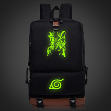 Naruto Luminous Pattern backpacks for women teenagers schoolbags (4 colors)
