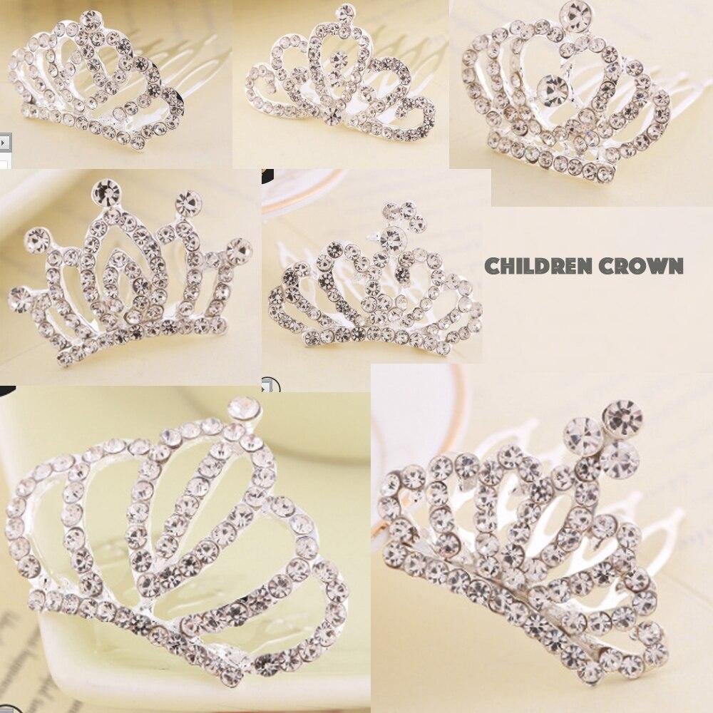 Children Hair Accessories Wedding Crown Girls' Crown Wedding Accessories Hair Crown Little Girls Hair Crown