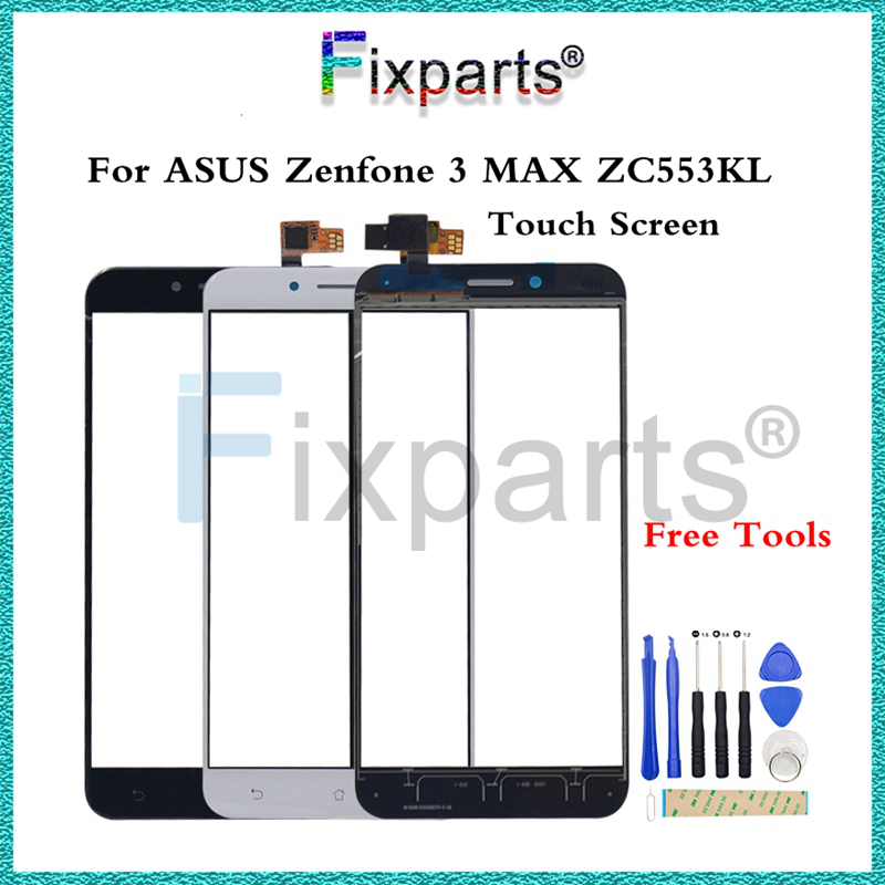 For ASUS Zenfone 3 MAX ZC553KL Touch  Screen Outer Glass Lens Replacement Repair Spare Parts For 5.5 ASUS ZC553KL Touch ScreenFor ASUS Zenfone 3 MAX ZC553KL Touch  Screen Outer Glass Lens Replacement Repair Spare Parts For 5.5 ASUS ZC553KL Touch Screen