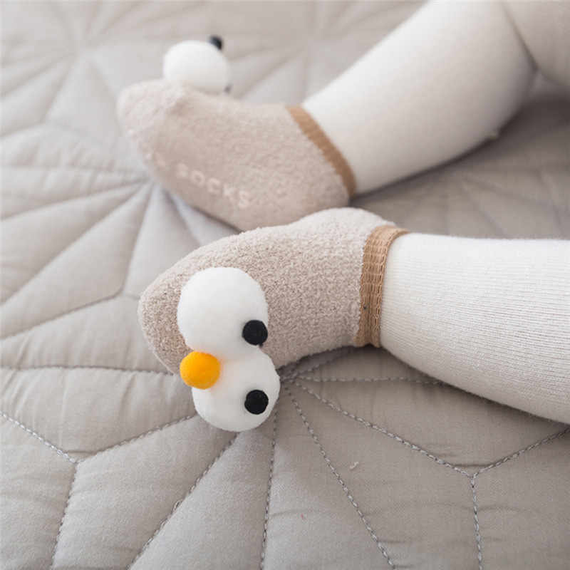 Baby floor socks new 2019 spring summer big eyes cartoon non slip baby socks 0-3 year boys girls children socks Drop shipping