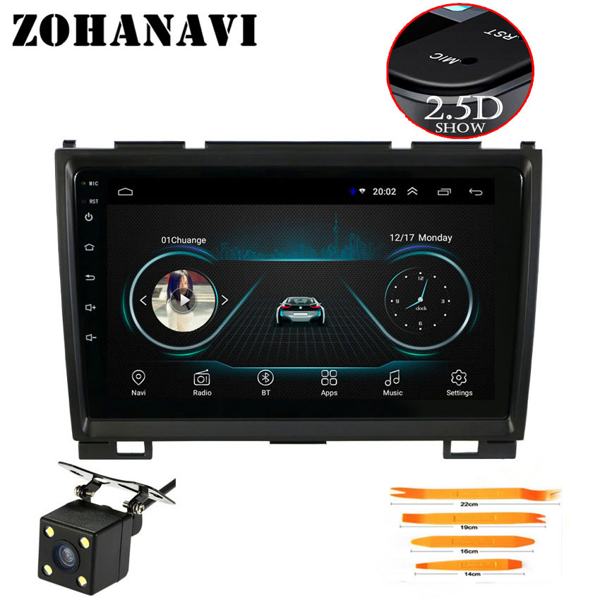 ZOHANAVI 9 inch Android 8 1 2 5D DVD GPS for Great Wall Hover H3 H5