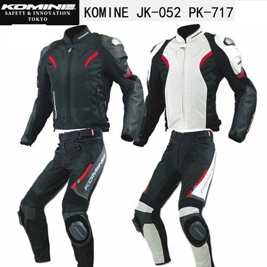 Envío gratis 1 Conjunto de nuevos trajes de carreras transpirables de malla de verano para hombre, chaqueta y pantalones de motocicleta todoterreno con bloque deslizante