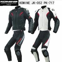 Free shipping 1set New Men's Outdoor Summer Mesh Breathable Racing Suits Off road Motorcycle Jacket and Pants With Slider Block