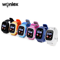 Wonlex Hot Selling Kids GPS Watch MTK2503 Touch Screen Child Google Map SOS Button Watch for Childred LBS/GPS/Wifi Locator