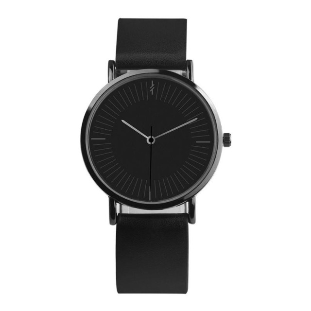 2018 New Arrival Hot Women Womens Solid Faux Leather Analog Quartz Watch bracele