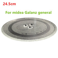 Microwave Parts Microwave Oven Glass Plate For Galanz Midea Haier Etc 24 5cm Microwave Oven