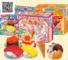 2pcs Japanese Snack Popin Cook donut DIY handmade candy drinks,Toy ,sweets and candy, Food ,Candy ,Snack toy free shipping pencil shaped chocolate gifts 3d puzzle toy stickers 50g sweets and candy food candy box