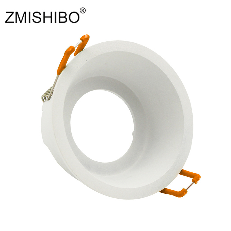 Ceiling Lights & Fans Downlights Responsible Zmishibo Round Deep Concave Single Ring Downlight Led Bulb Replaceable Mr16 Gu5.3/gu10 12v 85v-265v 75mm Hole Ceiling Spot Light Hot Sale 50-70% OFF