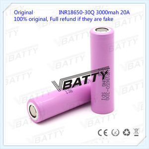 Image 3 - Original for Samsung 18650 Battery Specifications 3000mah 18650 30Q 3.7v Lithium ion Rechargeable Battery(1pc)